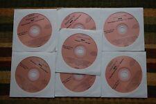 7 CDG DISCS ROCK/COUNTRY KARAOKE GRATEFUL DEAD,BLONDIE,EAGLES CD+G 99c