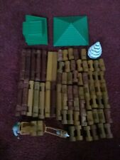 Barrel of Lincoln Logs - Alaskan Tundra Outpost Log Cabin Set 77 Pieces Total