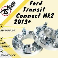 Ford Transit Connect Mk2 2013 on 5x108 25mm Hubcentric wheel spacers - UK MADE