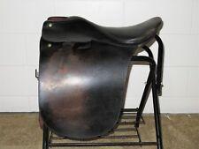 """Made In England National Bridle Shop Black 19"""" English Cutback Saddleseat Saddle"""