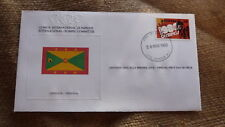 1980 IOC OLYMPIC GAMES STAMP ISSUE FDC, GRENADA IOC ISSUE CYCLING