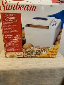 Sunbeam Bread Maker Machine Expressbake Model 5833 - New Open Box !!!!
