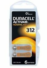 Duracell Hearing Aid Battery Size 312 x 60 Batteries