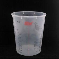 25x COLAD 9410300 - Tazza di Miscelazione Graduata in Plastica Trasparente - 230