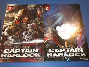 Space Pirate Captain Harlock #1,2 lot of 2 NM Gems Wow