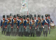 Strelets 1/72 Prussian Infantry on the March (Napoleonic) # 174