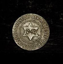 Poland, Lodz, Jewish Ghetto 1942 - 10 pfennig