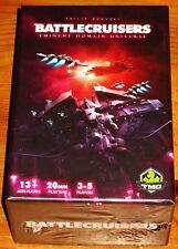 BATTLECRUISERS - EMINENT DOMAIN UNIVERSE Game Tasty Minstrel Games NEW/SHIPS $0!