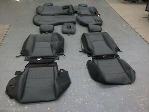 2020 2021 Dodge Ram Crew cab 2500 black  OEM cloth seat cover set