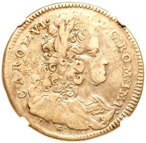 1733 VMA DG Italian States, Naples & Sicily 60 Grana 1/2 Piastra NGC VF 20 Italy