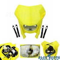 Motocross Enduro Front Headlight Fairing Universal Fit Suzuki DR250 DR350 DRZ400