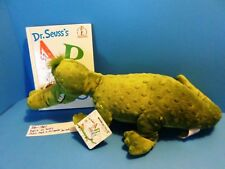 Dr. Suess ABC Alligator plush and Book(310-1860)