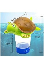 Turtle Floating Pool Chlorine Dispenser (a)