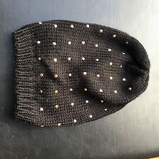 Stylish Hennes & Mauritz H&M Women's Studded Beanie Hat