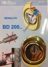 Defender DISEC BD200 25D1 Colore Oro Protezione Porta Serratura Cilindro Europeo