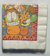 Garfield And Odie Birthday Party Napkins New Sealed