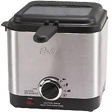 Deep Fryer 1.5qt stainless steel