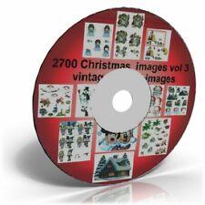 2700 VINTAGE CHRISTMAS  ART & CRAFT COMPILATION CD Vol. 3