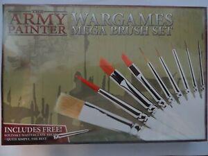 "The Army Painter ""Wargames Mega Brush Set"" (Star Wars Legion, Warhammer)"