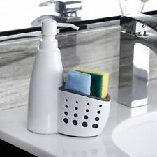 Soap Dispenser Pump with Sponge Caddy Organiser Holder for Kitchens NdHNs  @vvz