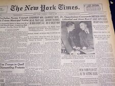 1949 JUNE 14 NEW YORK TIMES - DR. OPPENHEIMER COMMENDS LILIENTHAL - NT 1503