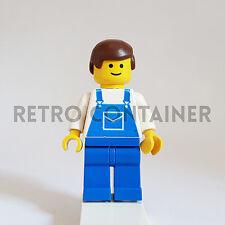 LEGO Minifigures - 1x ovr012 - Mechanic - Classic Town Omino Minifig 6699 6369