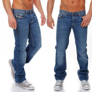 Diesel Jeans Larkee 0073P 73P Herren Hose Regular Straight blau