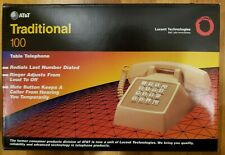 AT&T Traditional 100 Classic Table Telephone **New In A Box**