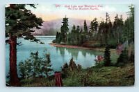 Blairsden, CA - EARLY 1900s UNUSED POSTCARD - GOLD LAKE WESTER PACIFIC RR - D3