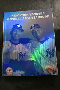 2004 OFFICIAL New York Yankees Yearbook Alex RODRIGUEZ Derek JETER