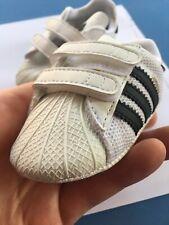 Adidas Black/White Infant Us 1K (Toddler size) Tennis Shoes Soft Bottoms