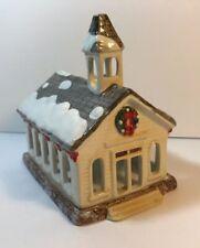 Sakura David Carter Brown Holiday Church Votive Holder Christmas