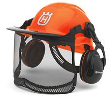 Husqvarna Chainsaw Forest Helmet Functional Fluorescent with Ultra Vision visor