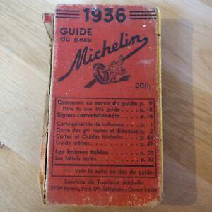 GUIDE MICHELIN 1936 - Livre / Book!!!
