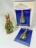 Hallmark Keepsake Ornament Nature's Sketchbook Series #1 Marjolein Bastin  2003