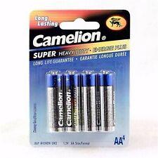 CAMELION Super Heavy Duty Batteries 4 Pack - AA