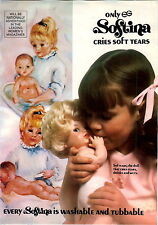 1977 ADVERT 4 PG EG Dolls Dolly Parton Bozo Clarabell Clown Patty Cake Softina