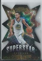 2018-19 PANINI CONTENDERS SUPERSTAR DIE CUTS #1 STEPHEN CURRY