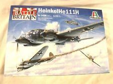 1/72 FREE PE Parts Italeri Battle of Britain German He 111H Heinkel Bomber #1436