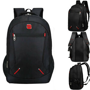 New Large Backpack Mens Boys Rucksack Fishing Sports Travel Hiking School Bag UK