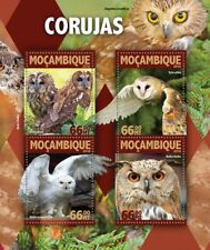 Mozambique 2016 MNH Owls Tawny Barn Snowy Owl 4v M/S Birds Stamps