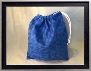 Gymnastics Leotard Grip Bags / Midnight Blue Marble Gymnasts Birthday Goody Bag