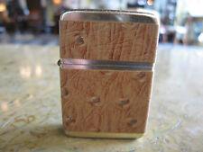 Vintage Storm King Leather Wrapped Lighter