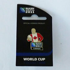 Rugby World Cup RWC 2011 Canada Player Pin