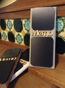 Wooden Memo French Style Petit Double Chalk Board .