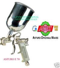 AEROGRAFO PISTOLA  ASTURO ORIGINALI  E70  500cc  VARI UGELLI +1 ALTRO UGELLO