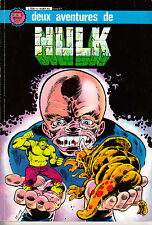 HULK   ALBUM  RELIE  N°3 : deux aventures de hulk  ARTIMA COLOR