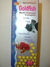 120 ML OCEAN FREE GOLDFISH MULTI-VITAMIN COMPLEX!