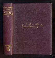AGUILAR obras eternas - J. M. Pereda - Obras Completas II