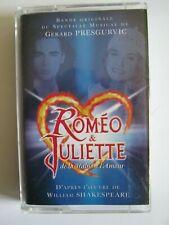 ROMEO ET JULIETTE -Comedie Musicale- Album- K7 audio Tape